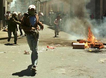 Bolivia, el derecho a la rebelión