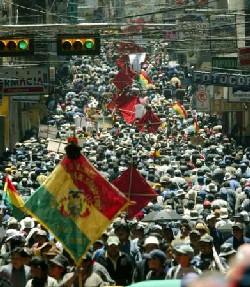 Bolivia, una nueva lección