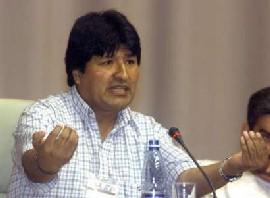 """Evo Morales: """"Esa demanda judicial no nos asusta"""""""