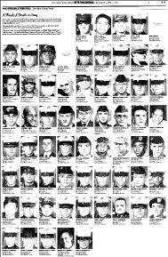 Cambia en Estados Unidos la imagen de la guerra con la llegada de los muertos