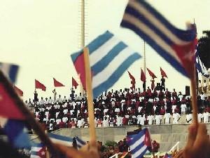 Primero de Mayo en Cuba: MILLONES RECHAZAN PROYECTO NORTEAMERICANO DE TRANSICIÓN POLÍTICA