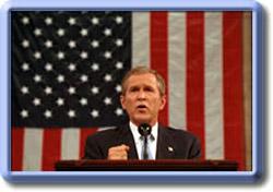 Las mentiras de mister Bush sobre el terrorismo.