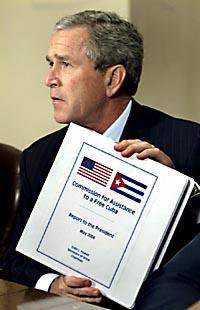 El Plan de Bush para la recolonización de Cuba