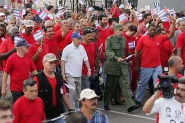 Más de un millón de cubanos en la calle