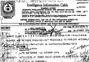 Expediente Posada II:  La CIA y el FBI dicen que Posada Carriles es un asesino