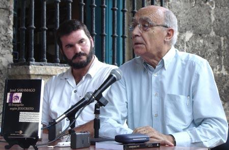 José Saramago: Cuba irradia solidaridad