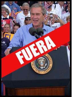 Doble paliza a Bush