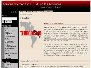 Terrorismo made in USA en internet