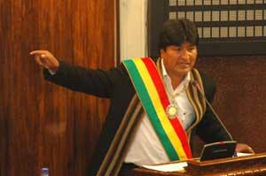 En Bolivia el modelo neoliberal no funciona