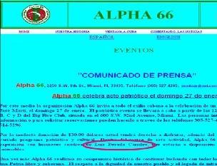 Posada y Alpha 66 desafían a la Corte de Apelación