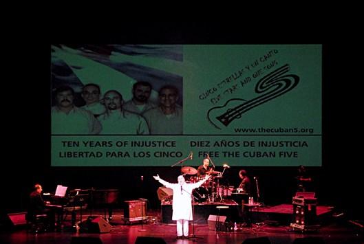 Concierto por la libertad de los cinco cubanos en EEUU
