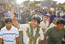 Evo Morales: Yo sólo creo en la conciencia del pueblo, y yo sólo creo en la fuerza social