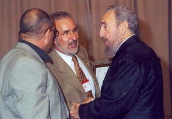 Una reunión en primera persona con Fidel